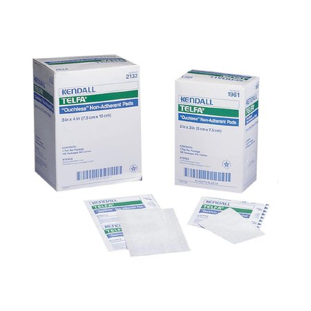 Telfa(TM) Ouchless Non-Adherent Dressing, 8 x 10 Inch