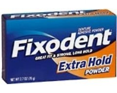 Fixodent(R) Extra Hold Denture Adhesive