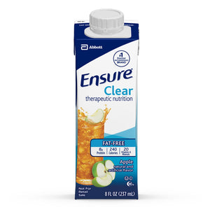 Ensure Clear(TM) Apple Oral Supplement, 8 oz. Carton
