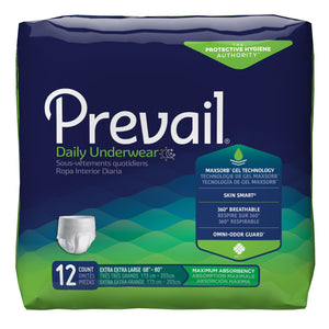 Prevail(R) Daily Underwear Maximum Absorbent Underwear, Extra Extra Large