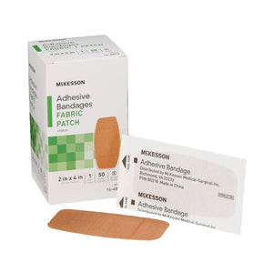 McKesson Tan Adhesive Strip, 2 x 4 Inch