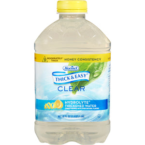 Thick & Easy(R) Hydrolyte(R) Honey Consistency Lemon Thickened Water, 46 oz. Bottle