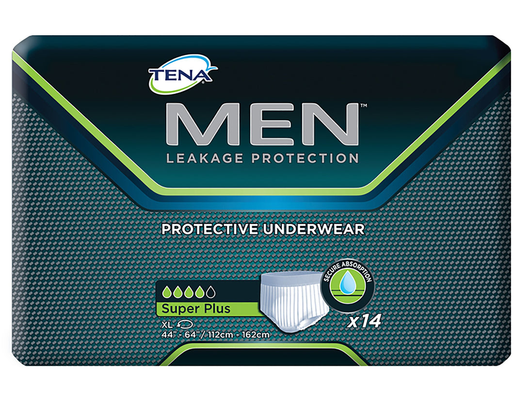 Tena(R) Men(TM) Super Plus Absorbent Underwear, Extra Large