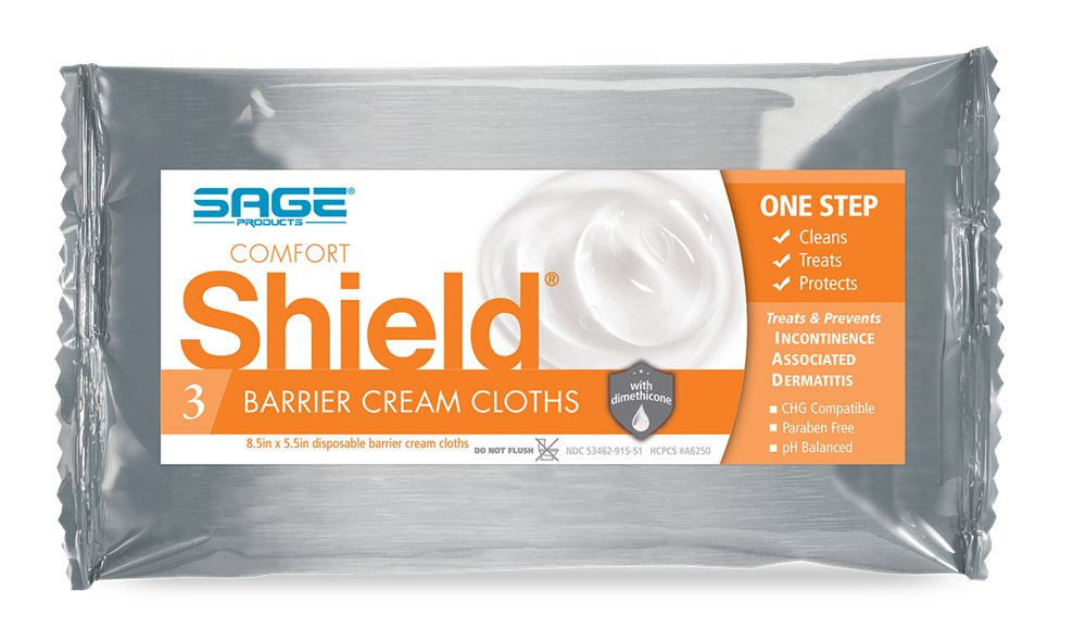 Comfort Shield(R) Incontinent Care Wipe