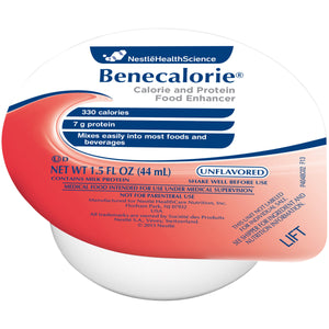 Benecalorie(R) Calorie and Protein Food Enhancer, Unflavored 1.5 oz. Cup