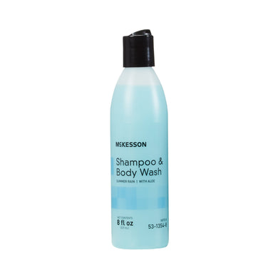 McKesson Shampoo and Body Wash 8 oz. Squeeze Bottle