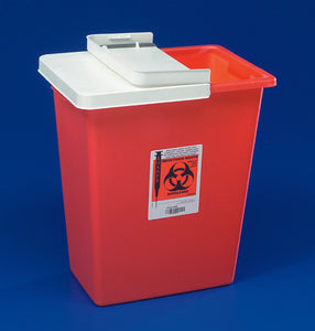 SharpSafety(TM) Multi-purpose Sharps Container