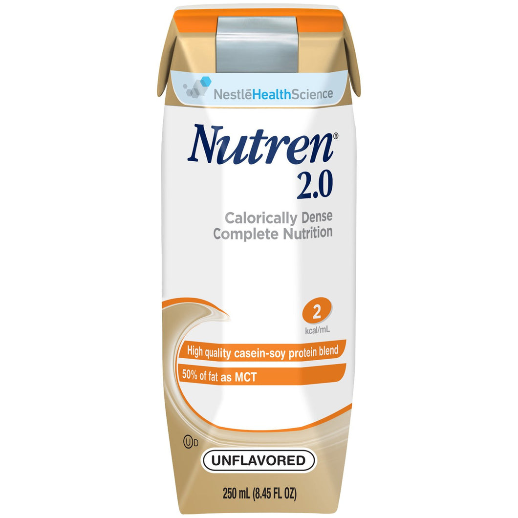 Nutren(R) 2.0 Tube Feeding Formula, Unflavored, 8.45 oz. Ready-to-Use Carton