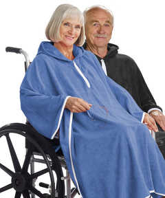 Terry Shower Cape For Women Or Men