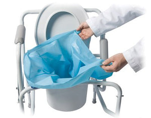 Sani-Bag+(R) Commode Liner, For Use With End Bucket