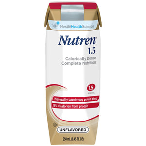Nutren(R) 1.5 Tube Feeding Formula, Unflavored, 8.45 oz. Ready-to-Use Carton