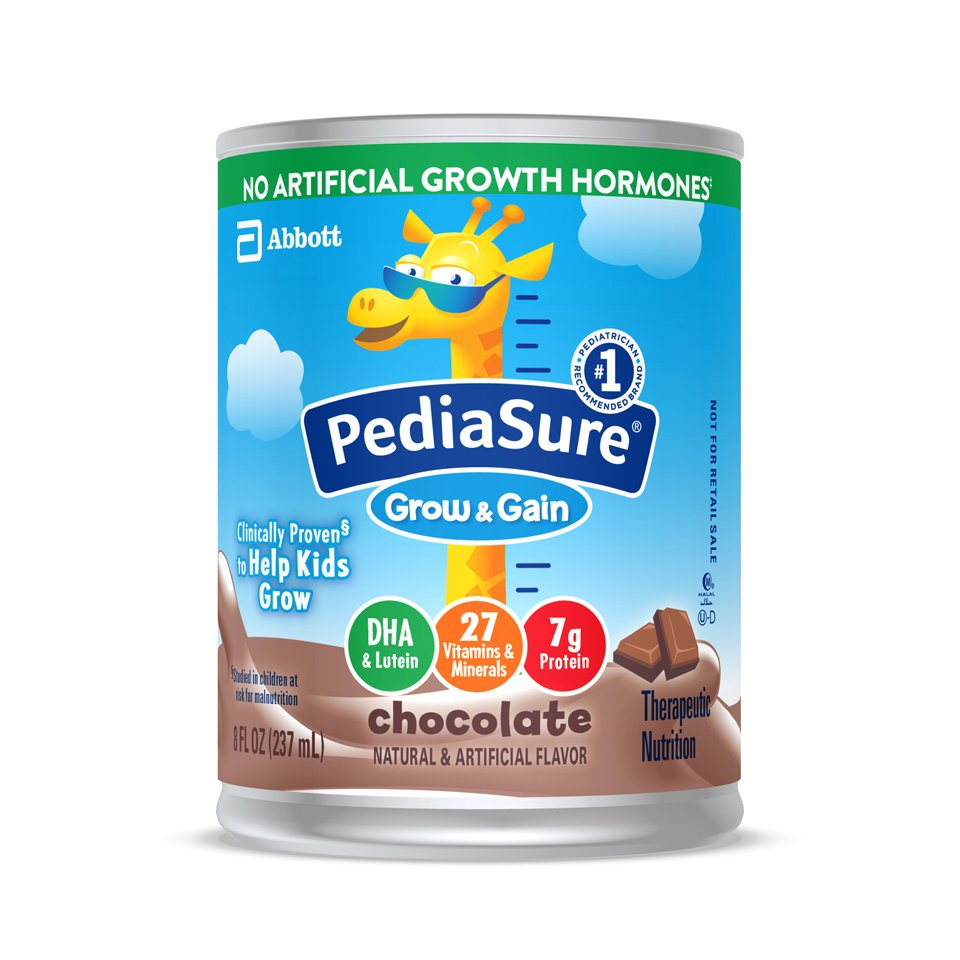 PediaSure(R) Grow & Gain Pediatric Oral Supplement, Chocolate, 8 oz. Ready to Use Can, 24 per Case