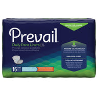 Prevail(R) Daily Pant Liners Moderate Absorbency Bladder Control Pad, 28-Inch Length