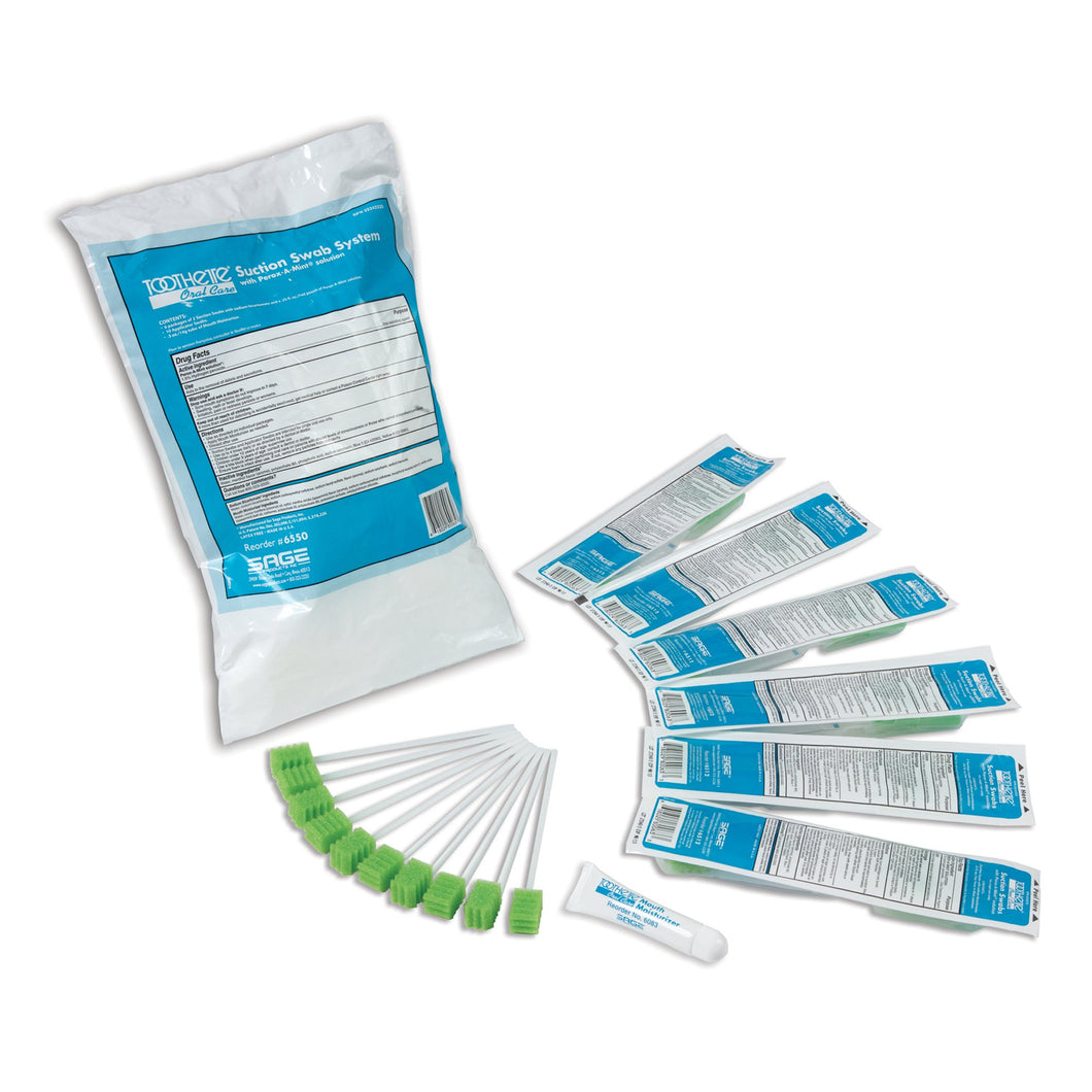 Toothette(R) Oral Suction Swab Kit System