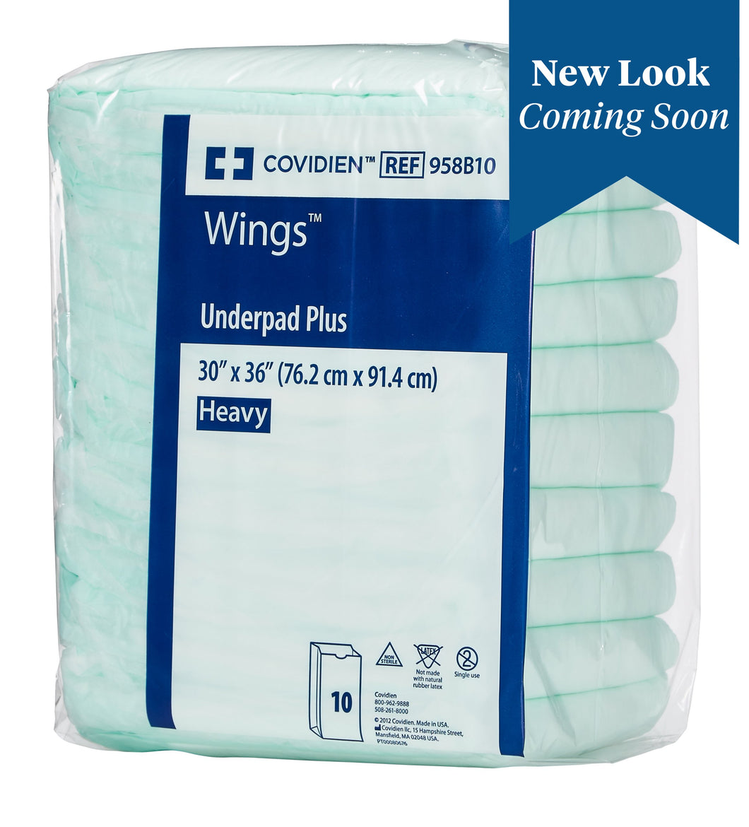 Wings(TM) Extra Heavy Absorbency Underpad, 30 x 36 Inch