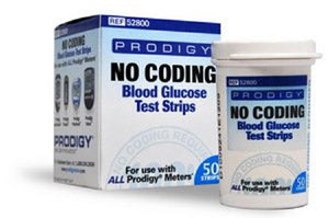 Prodigy(R) Blood Glucose Test Strips