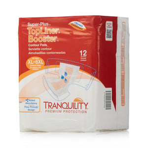 TopLiner(TM) Super Plus Added Absorbency Incontinence Booster Pad, 32-Inch Length