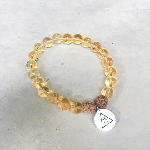 I AM JOY & ABUNDANCE - Citrine Bracelet
