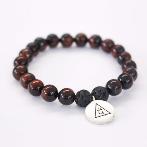 INNER POWER - Red Tiger's Eye Bracelet