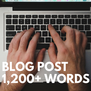 Blog Post (1,200+ Words)