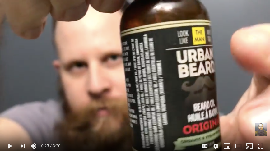 bMUR's Bearded Experiences - Original Beard Oil Review