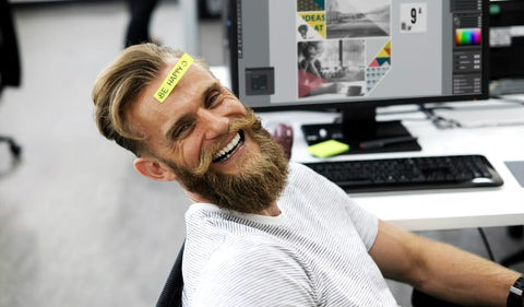 Guy with beard smiling