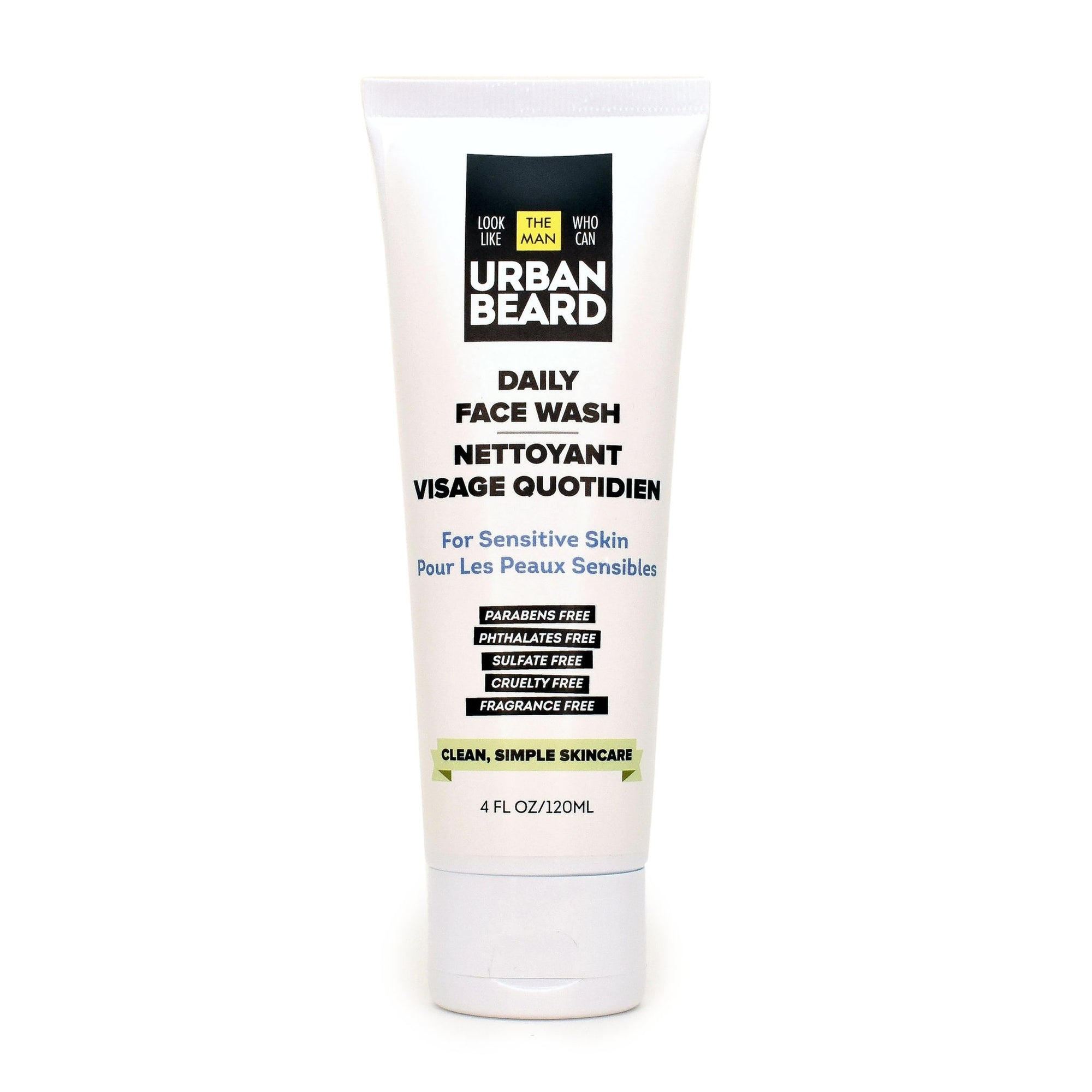Daily Face Wash | Natural | Clean | Men | Sensitive Skin