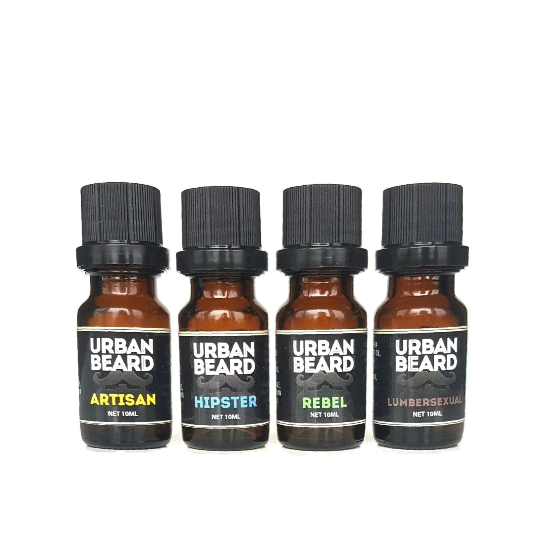 10ml size beard oil sample pack