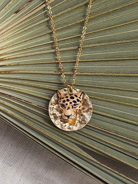 Capsule Collection Feline & Leo Medallion Necklace