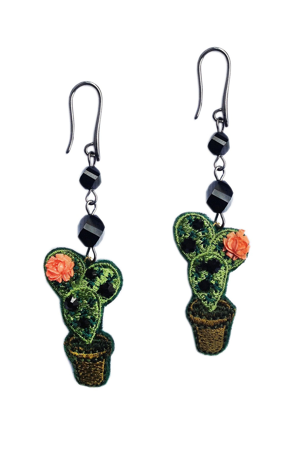 Small Cactus earrings