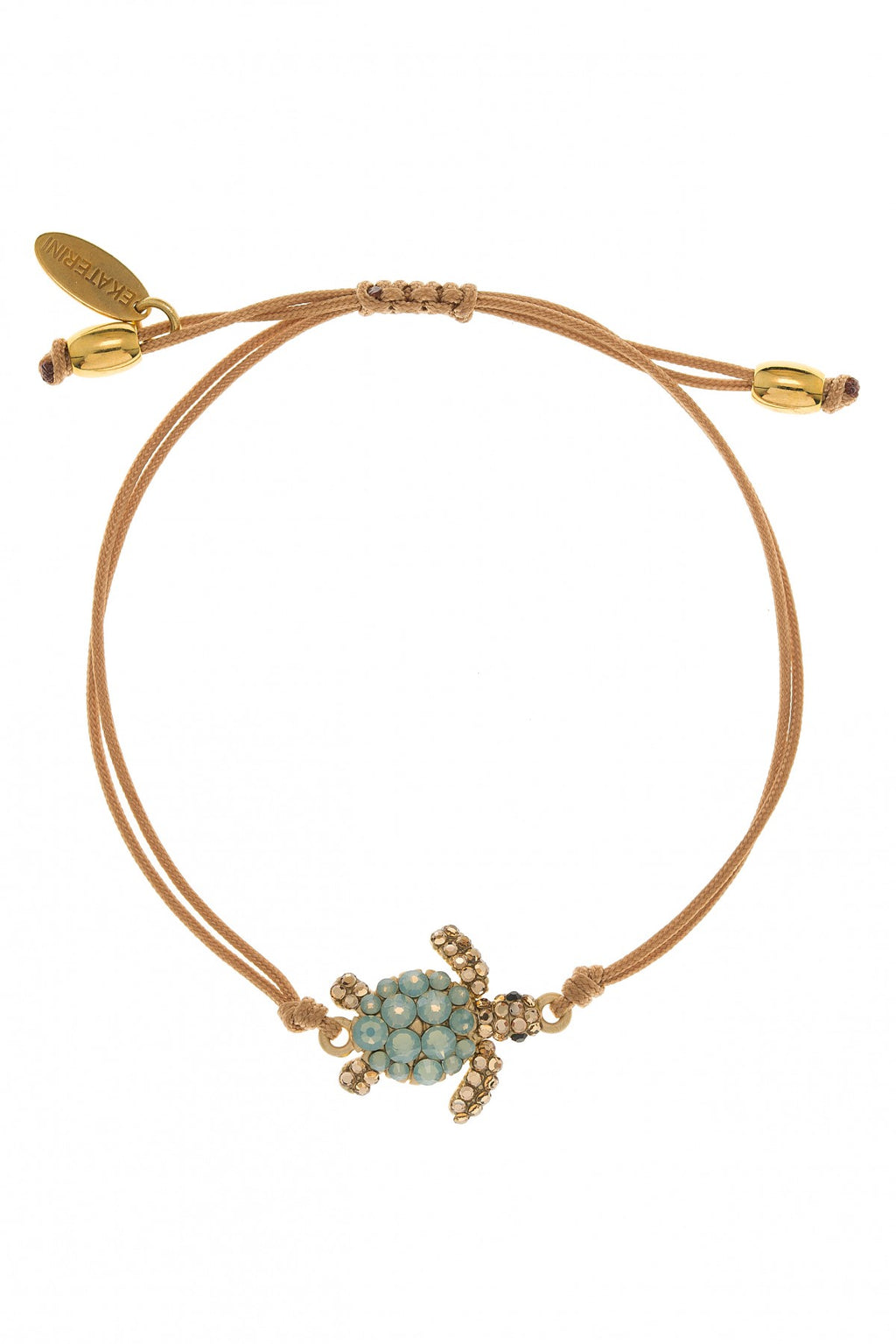 Caretta Turtle bracelet in pacific color