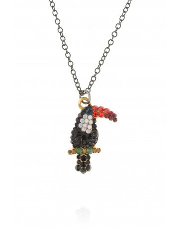 Small Toucan Necklace