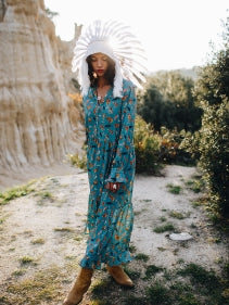 Blue Long Dress Canyon