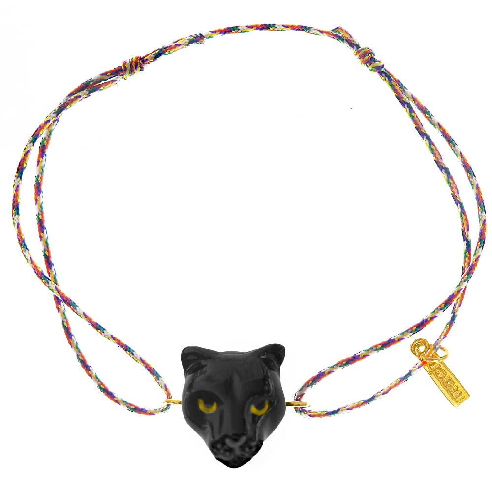 Black Panther Multicolor charm's bracelet