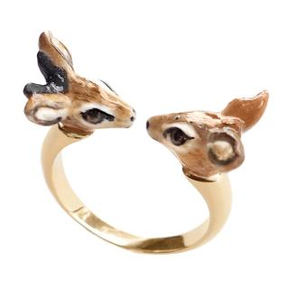 Dik Dik face to face ring
