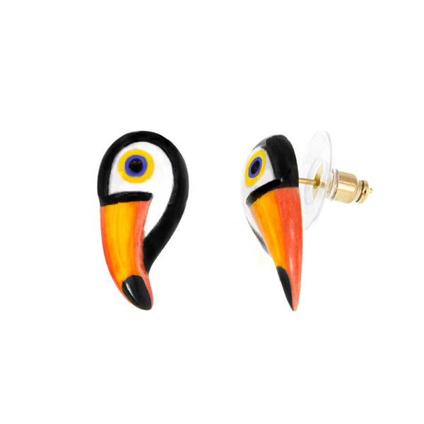 Mini Toucan Stud earrings