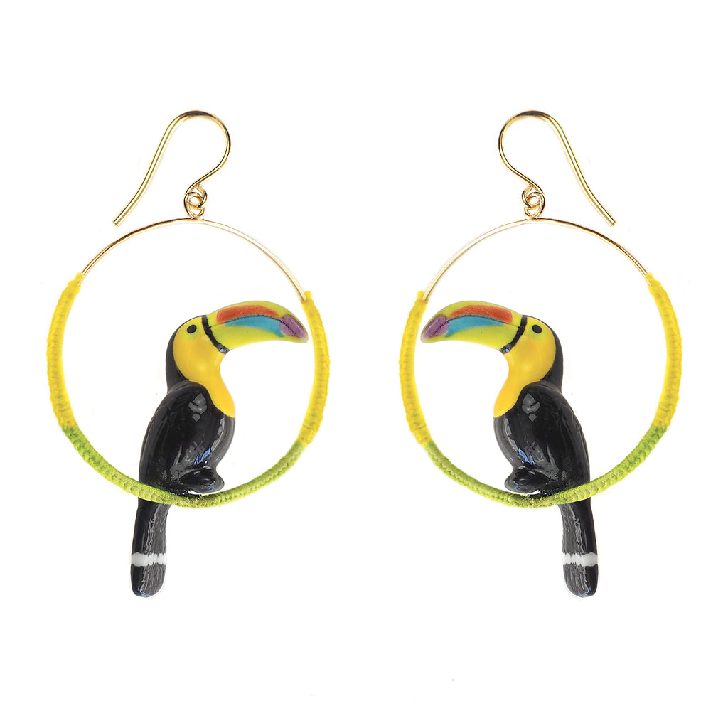 Toucan Colored Hoops