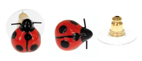 Mini Ladybug studs earrings