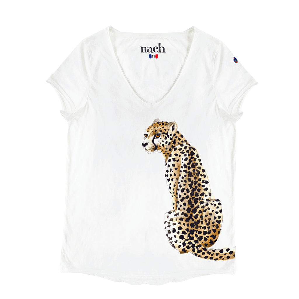 Sitting Cheetah Tee-Shirt