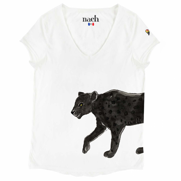 Walking Black Panther Tee-Shirt