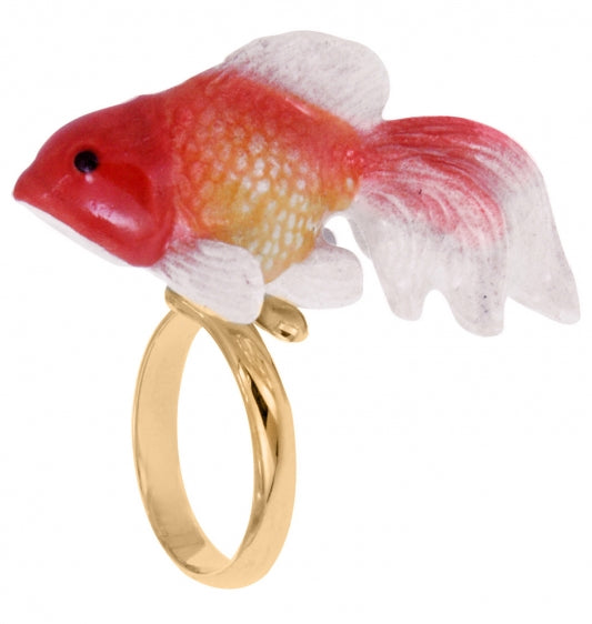 Oranda Fish adjustable ring