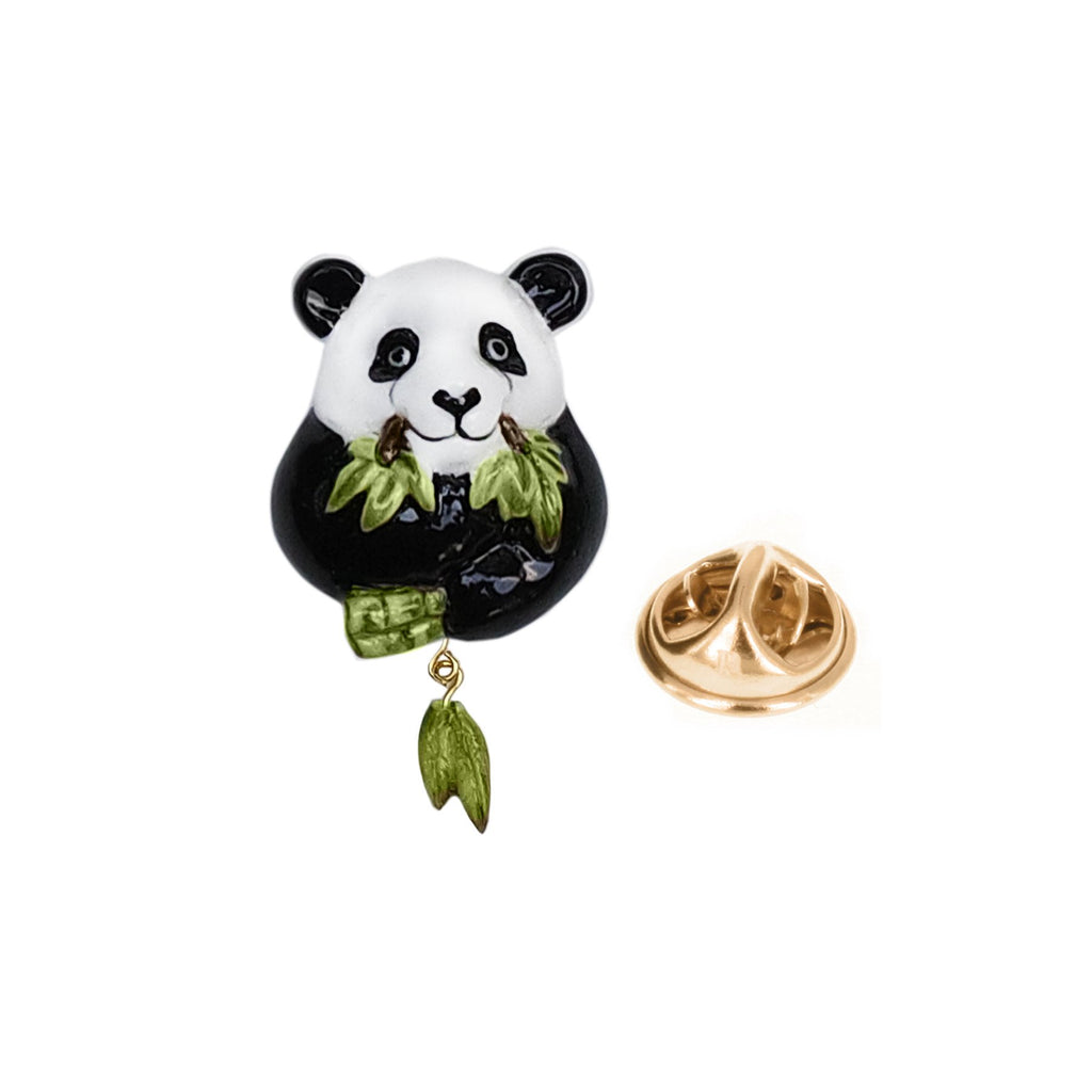 Panda Eating Bamboo pin