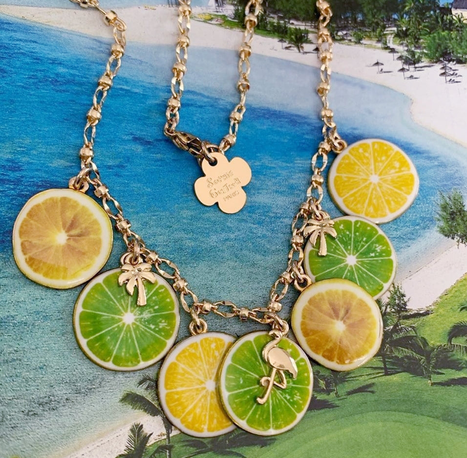Short Mojito Necklace