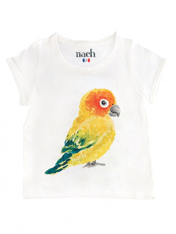 Yellow Parrot Kid Tee-Shirt
