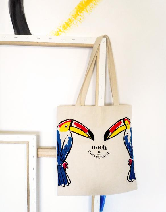 Limited edition Castelbajac Paris x Nach Toucan Tote Bag
