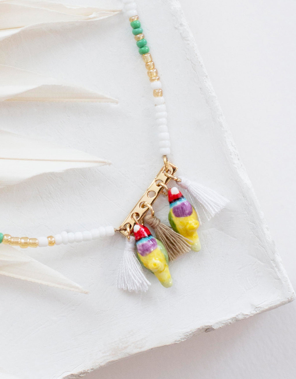 Multi Birds Necklace