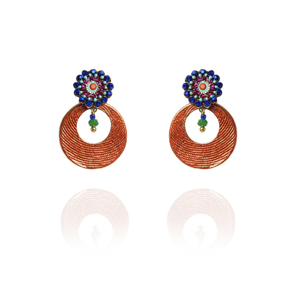 Rio Round Earrings