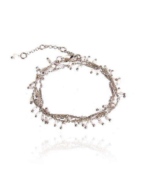 White Jaïna Bracelet/Necklace