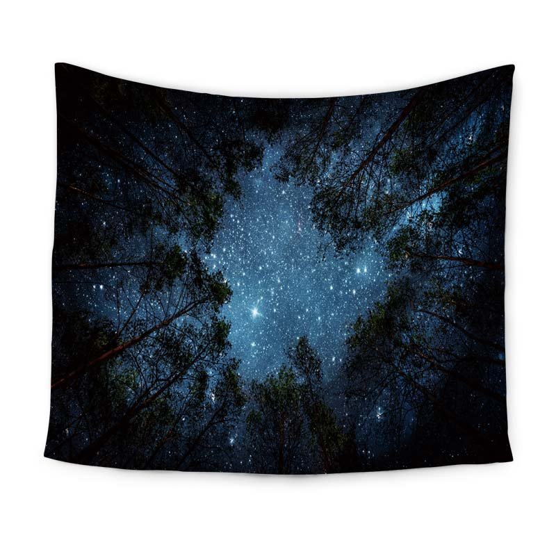 Serene Night Sky Tapestry