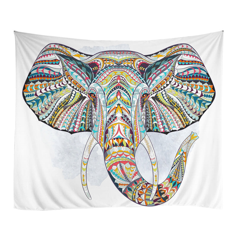 Large Elephant Wall Tapestry